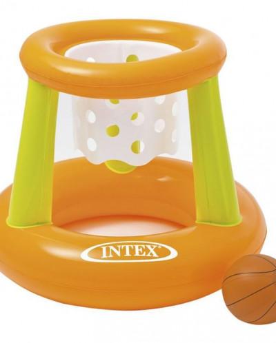 Корзина баскетбольная надувная с мячом