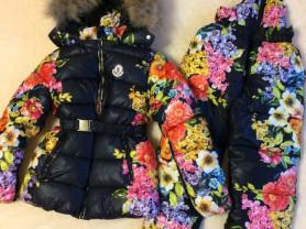 куртка + полукомбез (НОВЫЙ ) зима
