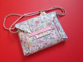 Новая стильная сумка конверт Caude Италия оригинал