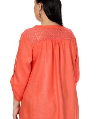 Блузка Оранжевая 17219