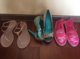 сандали эспадрильи туфли