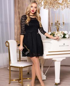 """Платье """"Ханна"""" (черный)"""