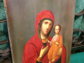 001-796. Икона Божией Матери Смоленская