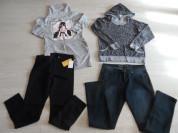 Фирменные новые и мало б/у толстовка джинсы платье