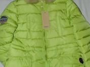Куртка новая с этикетками стильная модель салатова