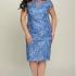 Платья Модель 01-508 голубой Elga      Производитель: Elga (