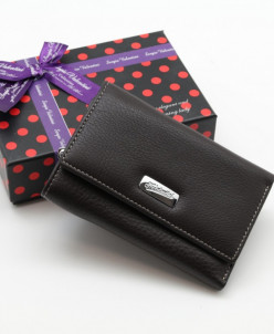 Маленький женский кожаный кошелек Sergio Valentini СВ 8033-0