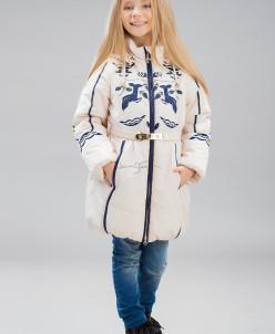 Пальто для девочек, холлофайбер