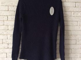 ассиметричная свитер водолазка гольф