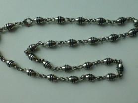 цепочка Mojo (мужская), никелированная сталь, нов