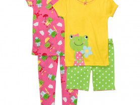Пижама Carters с лягушками