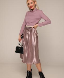 Блуза 235 жемчужно-розовый