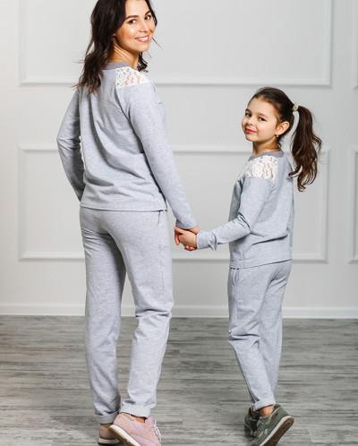 """Спортивные костюмы для мамы и дочки """"Уют"""""""