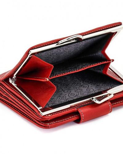 Маленький женский кожаный кошелек Sergio Valentini СВ 8093-1