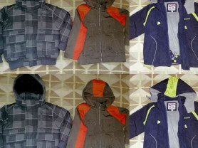Куртки детские разные сезоны р. 116