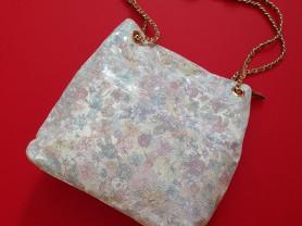 Новая кожаная сумка Италия с лазерной обработкой