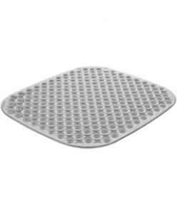 Коврик для раковины CLEAN KIT, 32x28, серый