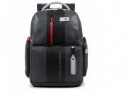Рюкзак Piquadro Brief, серый/черный, арт. CA4550BR
