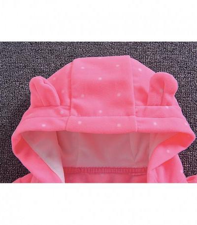 """Комбинезон флисовый Torataro """"Cute"""" розовый"""