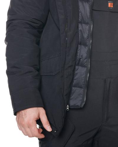 Мужская куртка, сезон 2019-2020, арт. A-8858, Черный