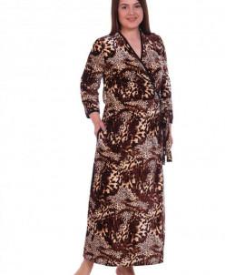 Халат женский Флоранс (3260). Расцветка: леопард