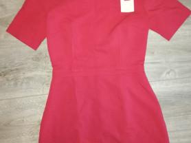 Новое платье zolla р. 42 офисный стиль, плотный ма