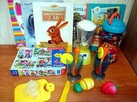 Набором для девочки игрушки Battat, ELC книги.