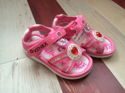 Пляжные сандалии для девочек, новые  с сюрпризом