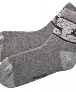 Носки из 100% шерсти яка
