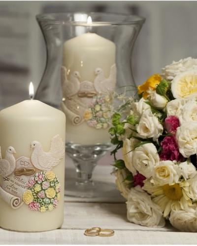 свеча Свадебные Колонна 80*150