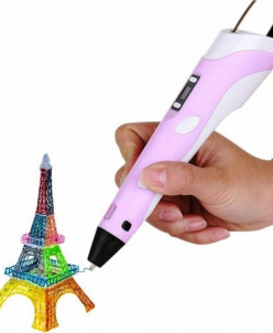 3D ручка ABS+PLA c ЖК дисплеем