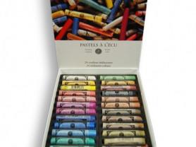 Пастель Sennelier ассорти, 24 цвета
