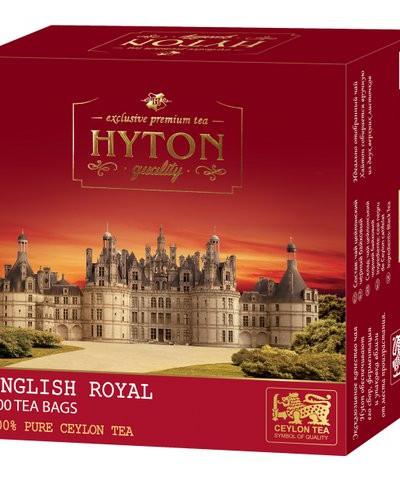 Чай Хайтон черный Английский Королевский 100 пак.
