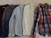 Benetton L рубашки