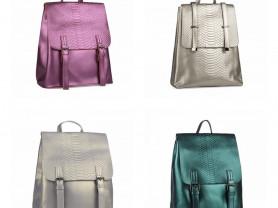 Новые кожаные рюкзаки - 9 расцветок