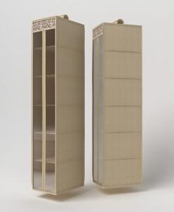 Подвесной кофр органайзер для обуви и бытовых мелочей 120х22
