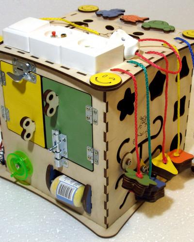 Куб развивающий 25 х 25 х 25