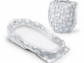 Baby delight snuggle nest surround XL кроватка дет