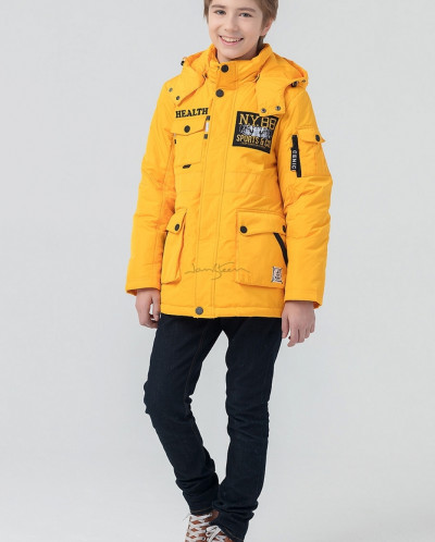 Куртка для мальчиков с подстежкой, холлофайбер