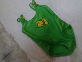 зелёный купальник