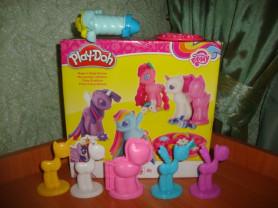 """Набор для лепки Play doh """"Создай любимую пони""""."""