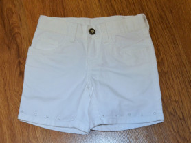 Белые джинсовые шорты crazy 8 на 4,5,6 лет