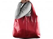 Новая сумка мешок из натуральной кожи