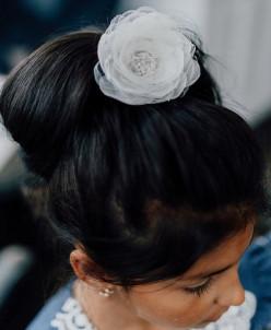 """Резинка для волос """"Цветочек"""""""