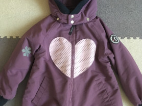Куртка  (парка) фирмы RACOON 122 см ( 6-7 лет)