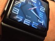 Светодиодные кварцевые часы Sbao новые
