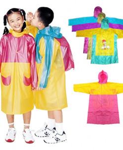 Детский плащ-дождевик в ассортименте (рр120-130см)