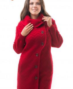 Пальто на полную фигуру Алегро М-0646