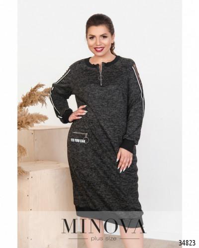 Платье №17-156-Чёрный