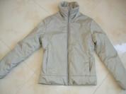 Курточка бежевая р.42-44 на синтепоне (б/у)
